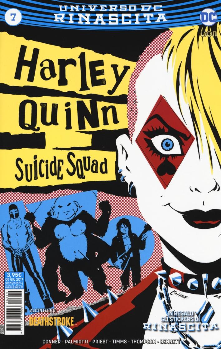 Rinascita. Suicide Squad. Harley Quinn. Vol. 7