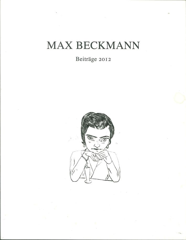 Max Beckmann Beitrage 2012.