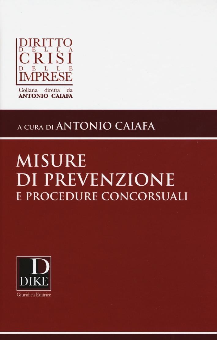Misure di prevenzione e procedure concorsuali