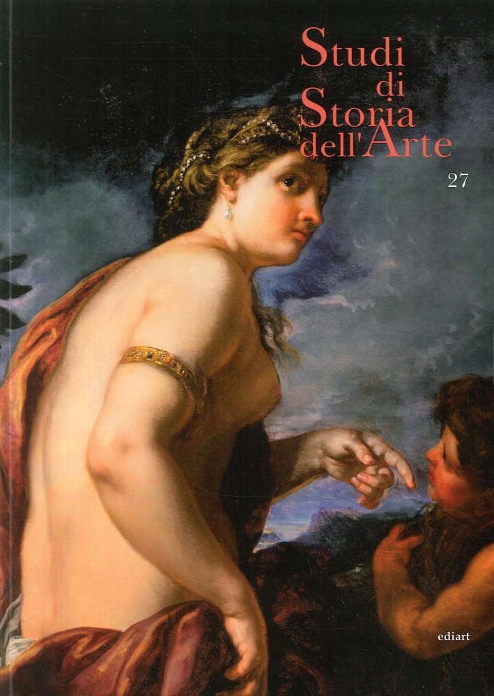 Studi di Storia dell'Arte. 27.
