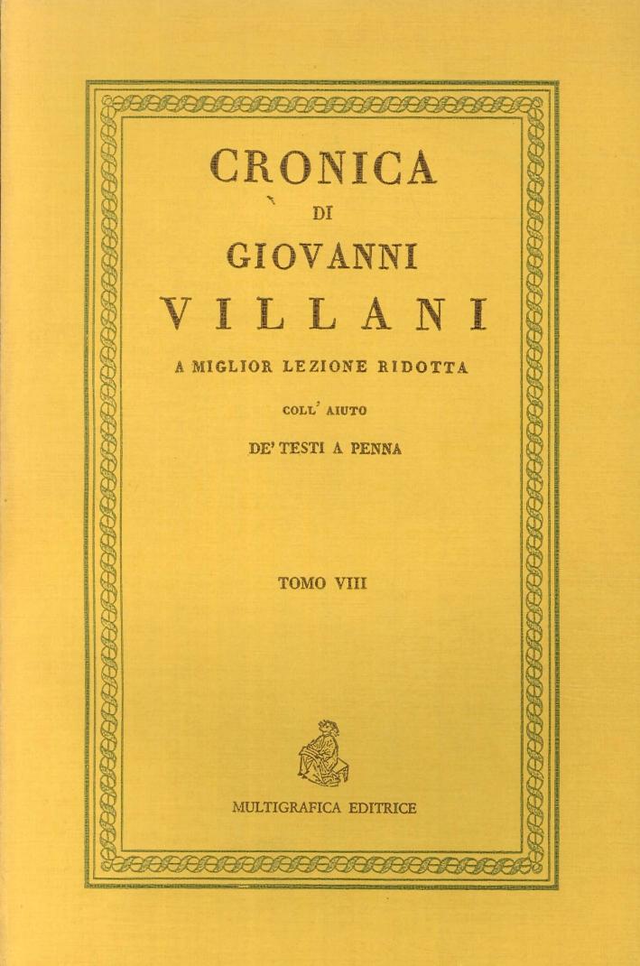 Cronica di Giovanni Villani.