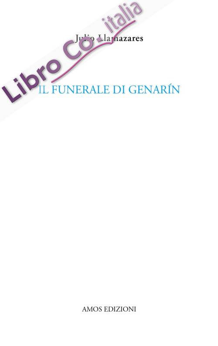 Il funerale di Genarín