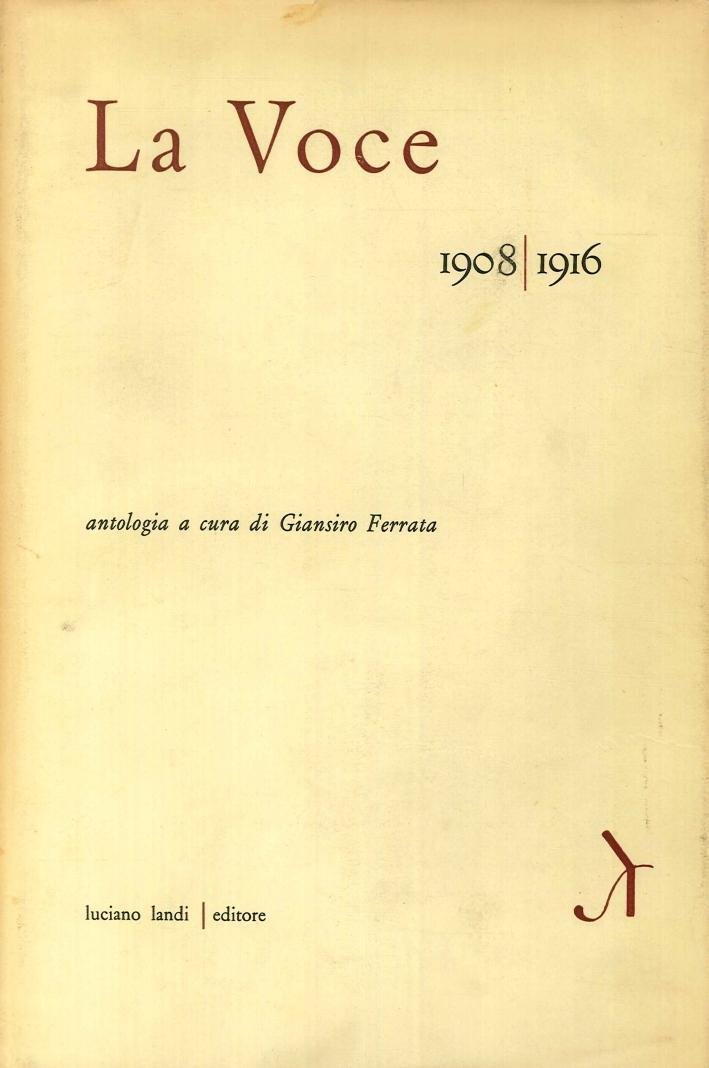 La Voce 1908-1916.