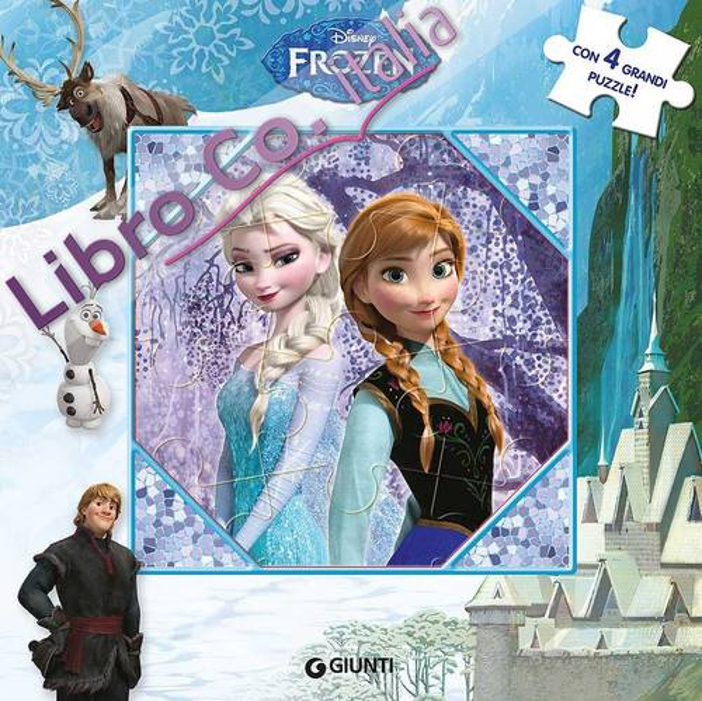 Frozen. Libro puzzle