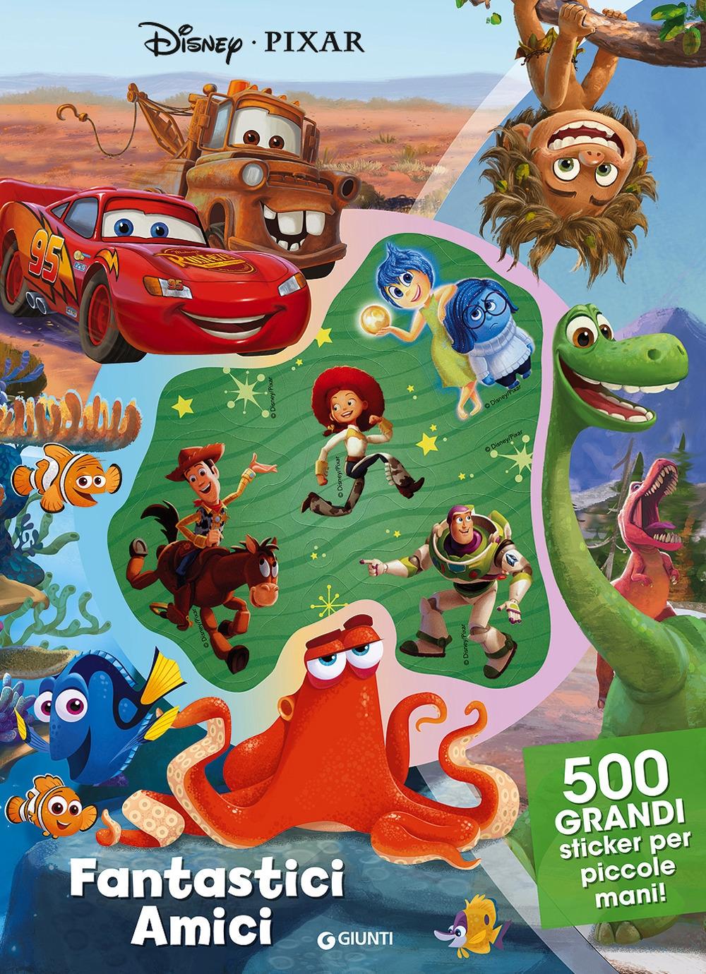 Amici fantastici. Disney Pixar. 500 stickers. Ediz. a colori