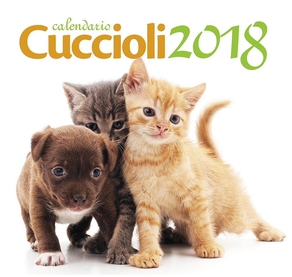 Cuccioli. Calendario desk 2018
