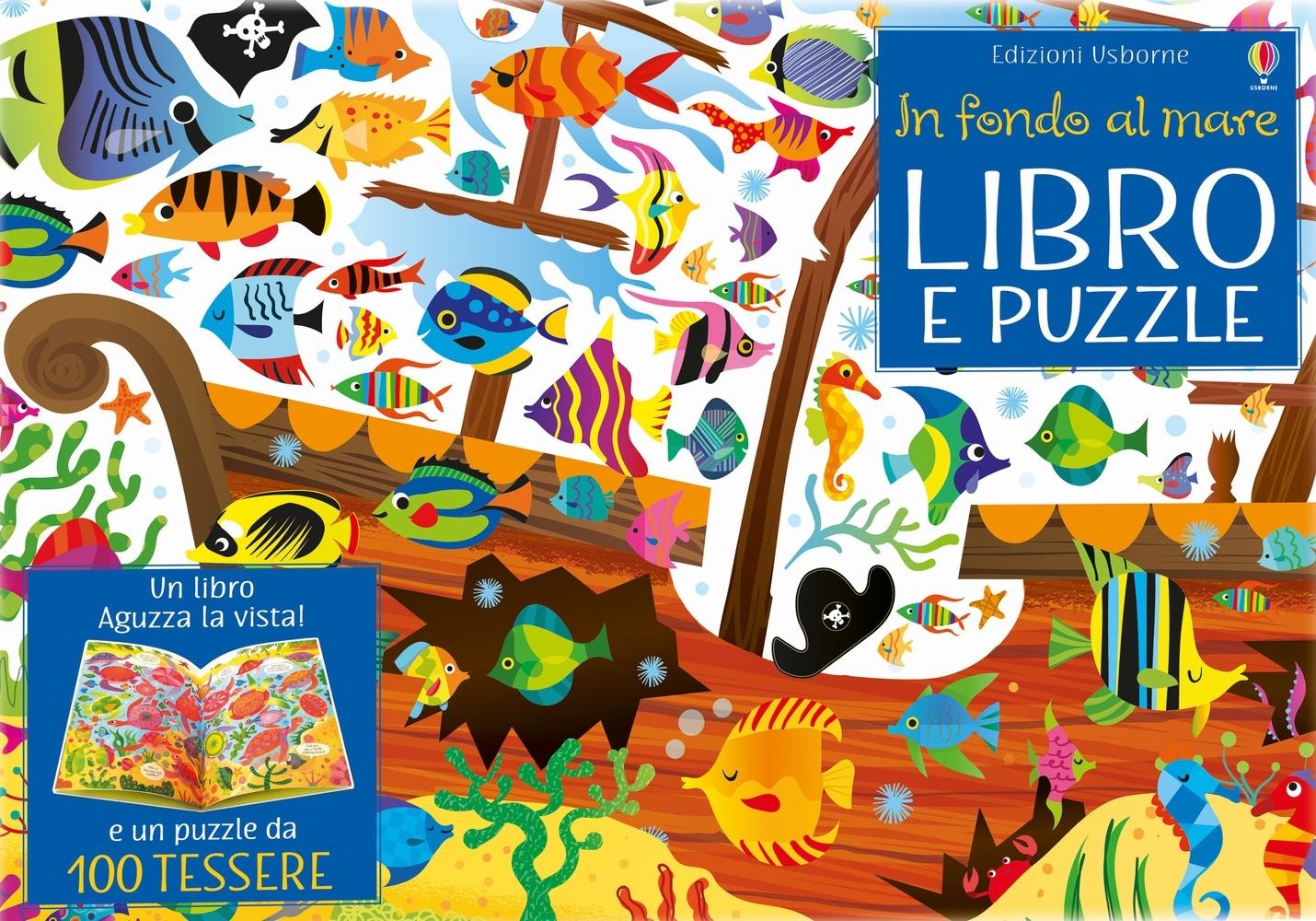 In fondo al mare. Libro e puzzle. Ediz. a colori. Con puzzle