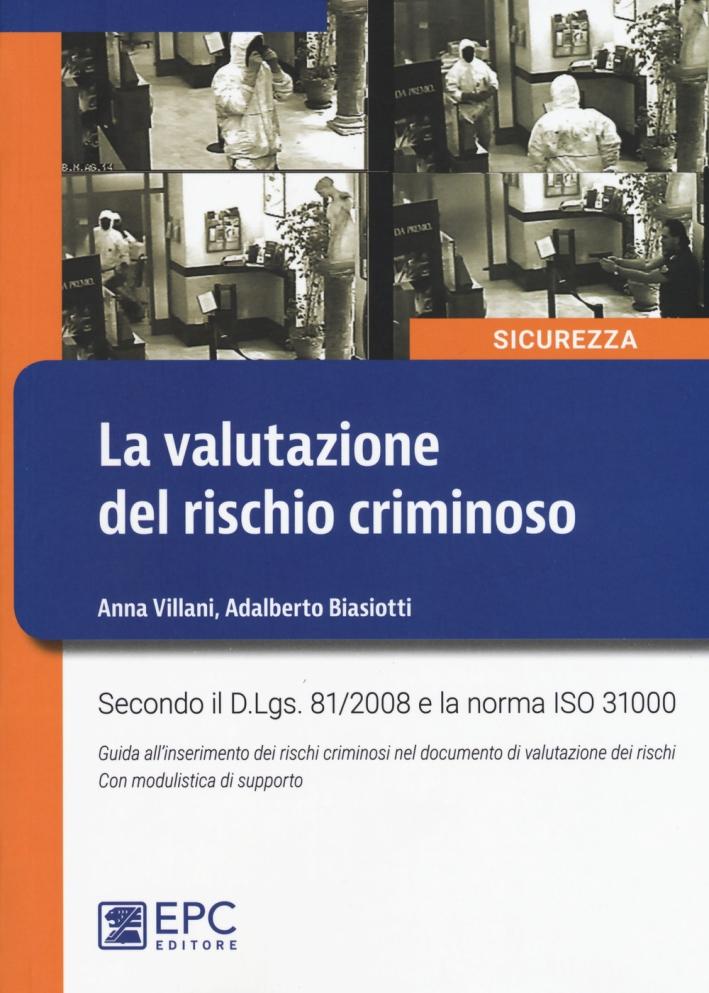La valutazione del rischio criminoso