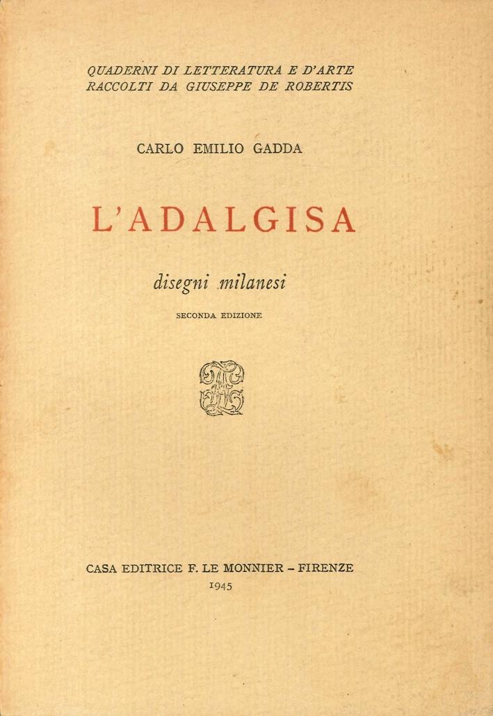 L'Adalgisa. Disegni Milanesi