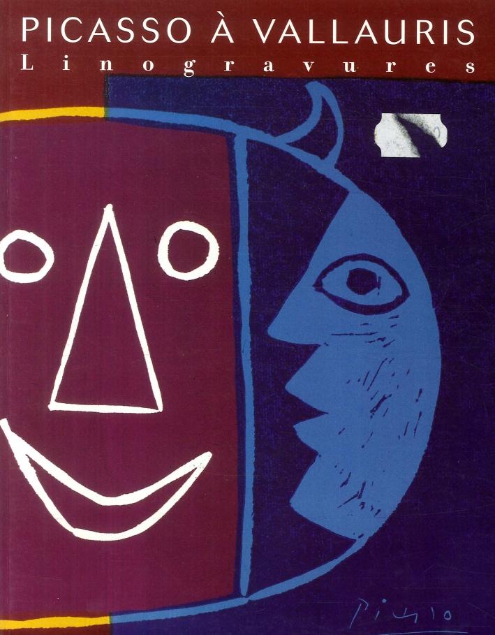 Picasso a Vallauris Linogravur