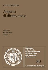 Appunti di diritto civile. Diritto di successione