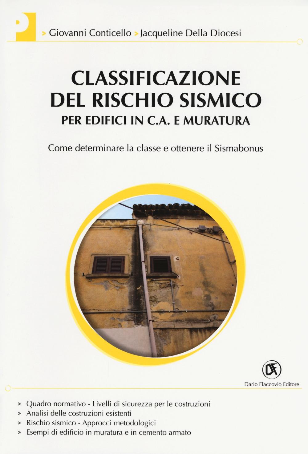 Classificazione del rischio sismico per edifici in c.a. e muratura