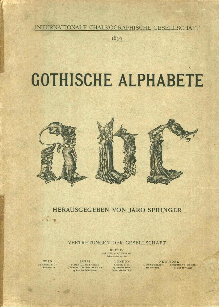 Gothische Alphabete