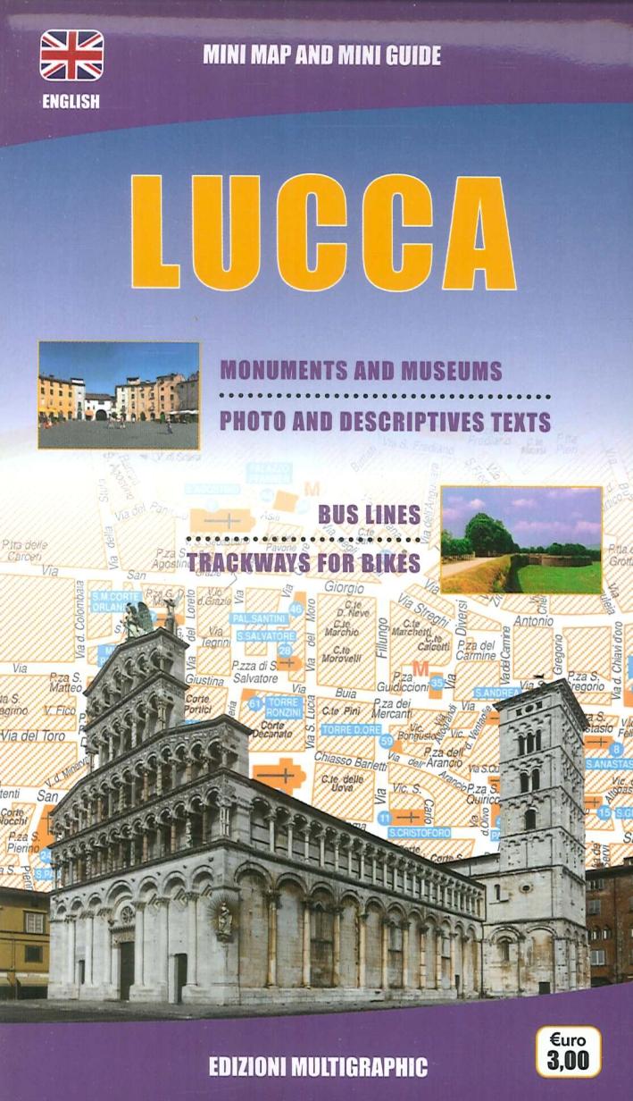 Lucca. Mini Map and Mini Guide