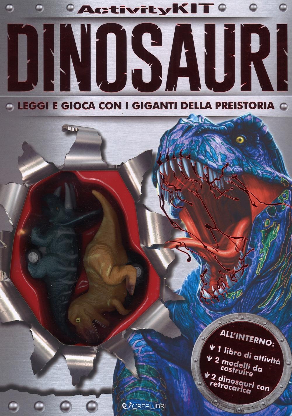 Dinosauri. Activity kit. Ediz. a colori. Con gadget