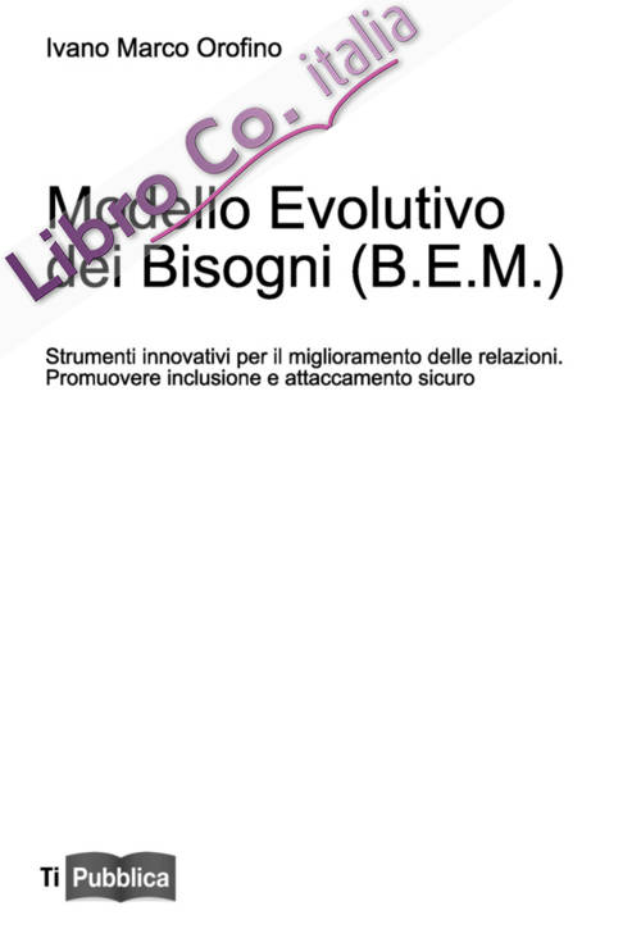 Modello evolutivo dei bisogni (B.E.M.)