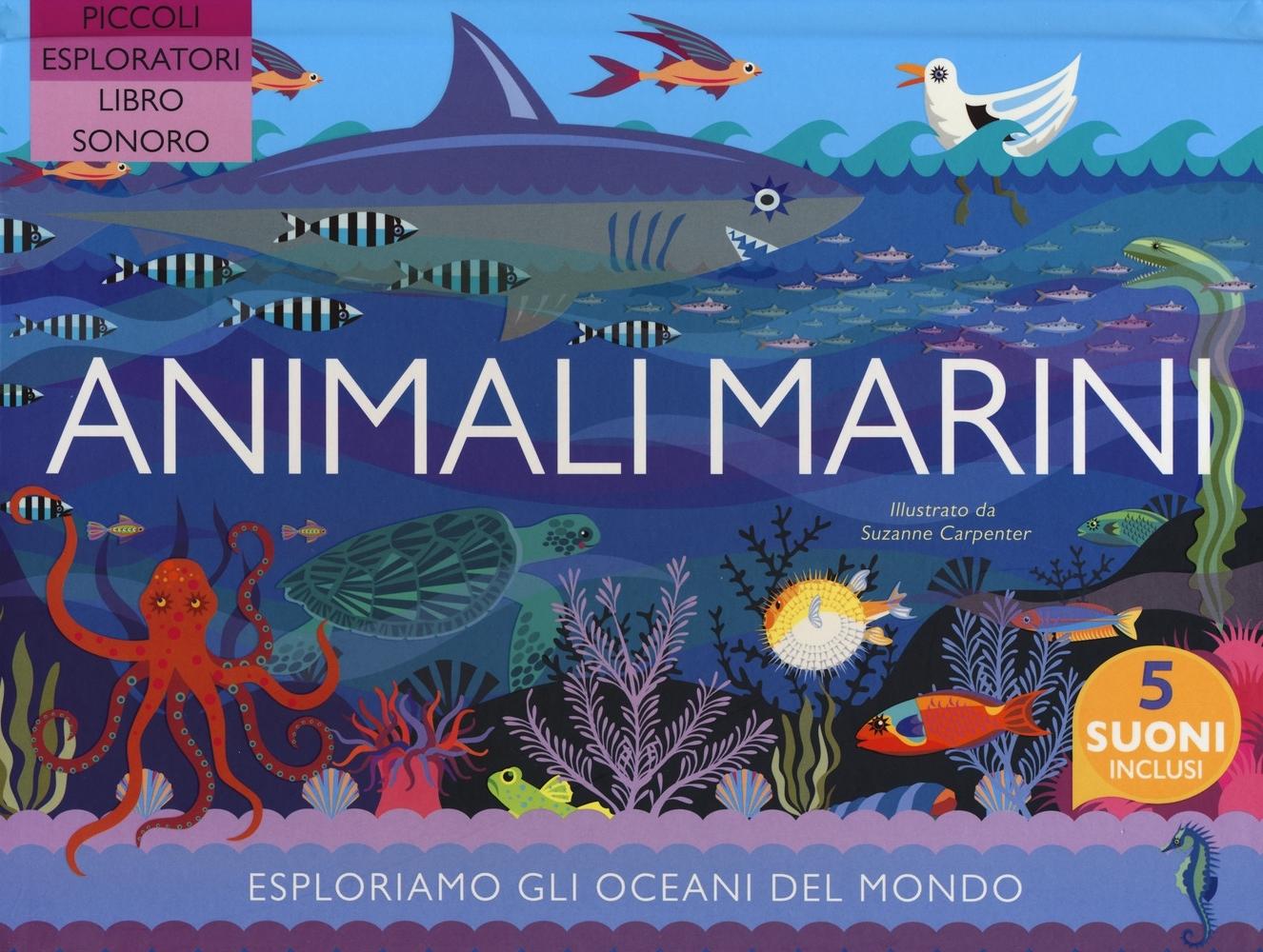 Animali marini. Ediz. a colori