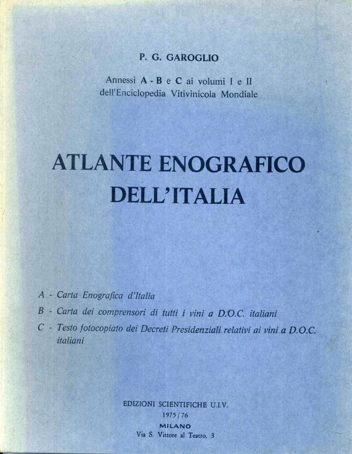 Atlante Enografico Dell'Italia