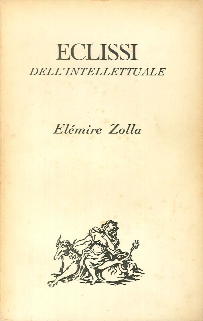 Eclissi dell'intellettuale.