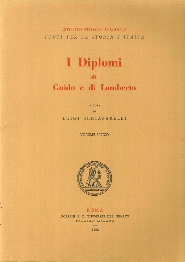I Diplomi di Guido e di Lamberto.