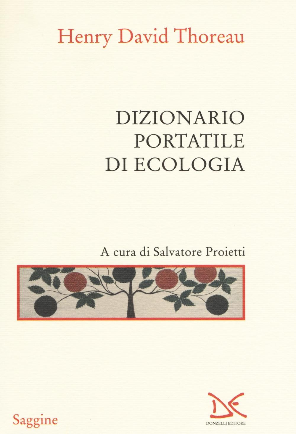 Dizionario portatile di ecologia