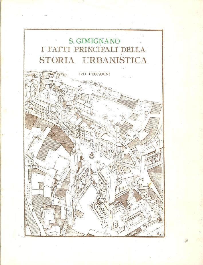 S. Gimignano. I fatti principali della storia urbanistica.