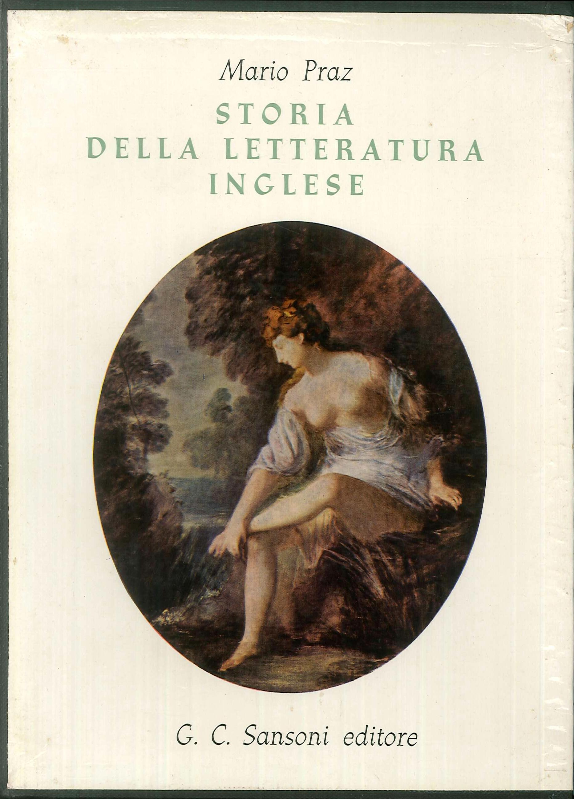 Storia della Letteratura Inglese.