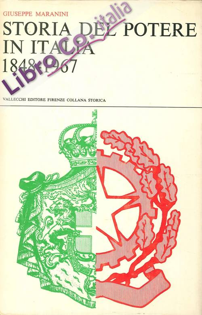 Storia del Potere in Italia 1848-1967