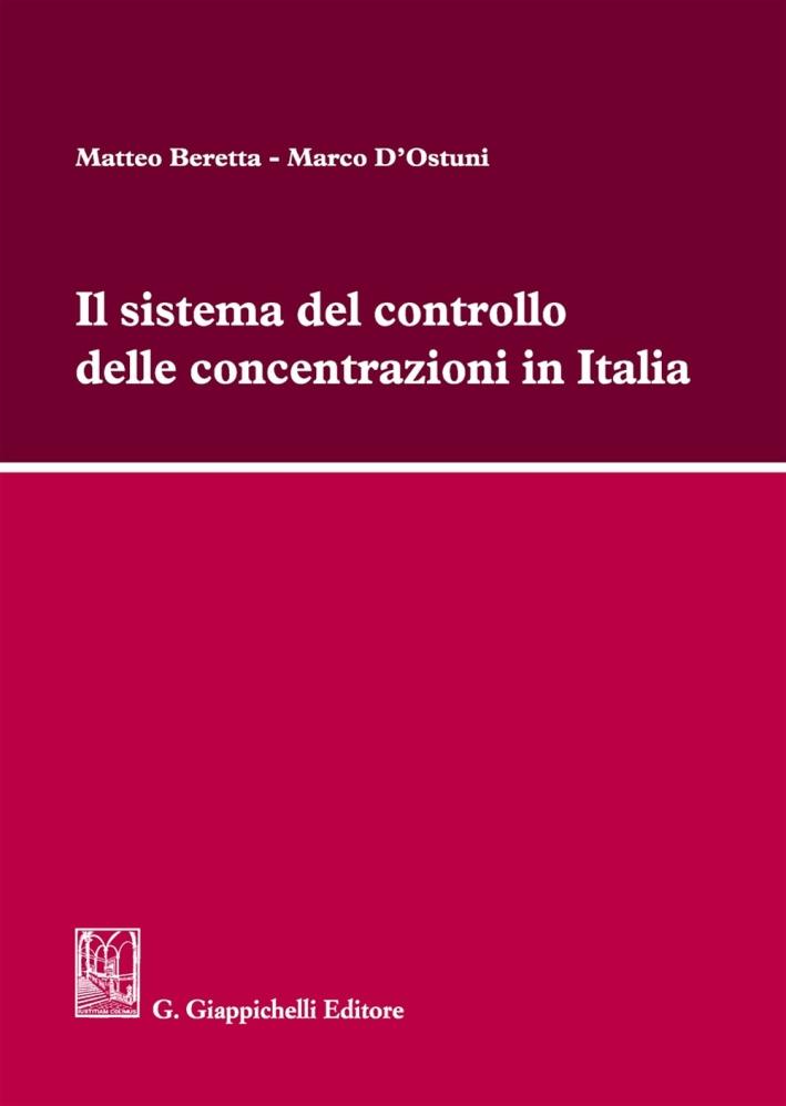 SISTEMA CONTROLLO CONCENTRAZIONI ITALIA.