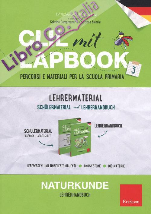 CLIL mit Lapbook. Naturkunde. Terza. Kit insegnante