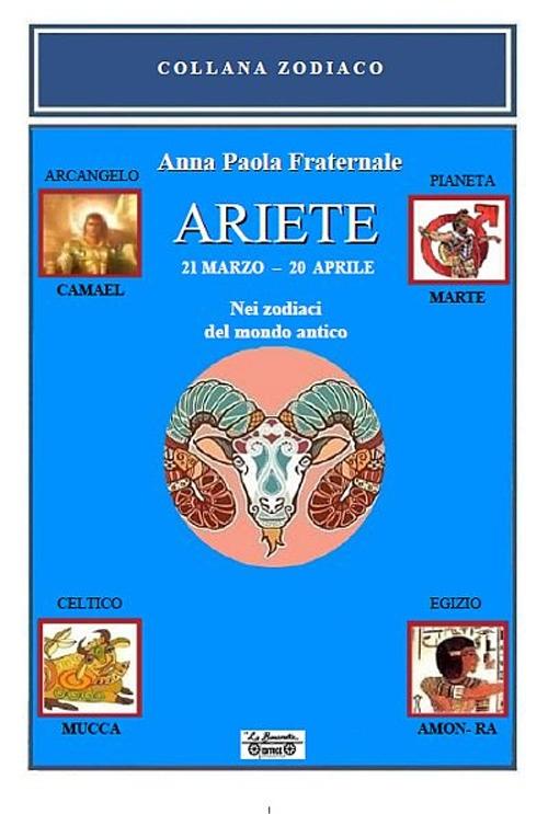 Ariete. 21 marzo-20 aprile. Nei zodiaci del mondo antico