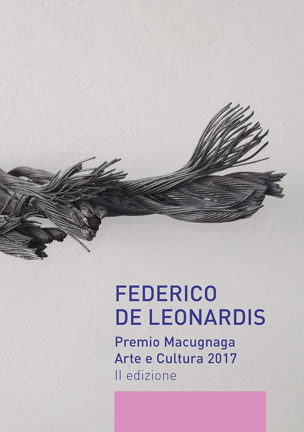 Federico De Leonardis. Premio Macugnaga arte e cultura 2017