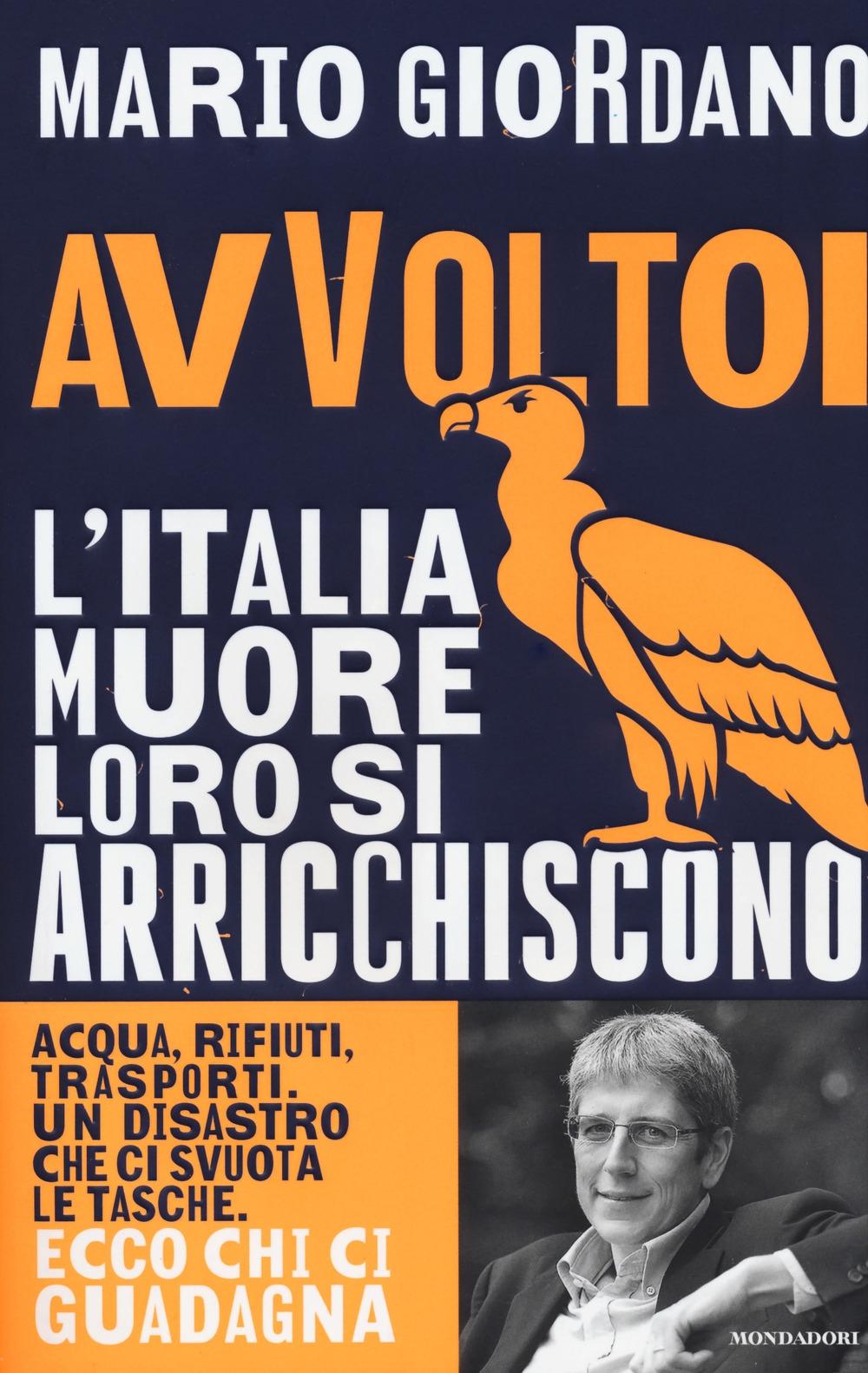 Avvoltoi. L'Italia muore loro si arricchiscono. Acqua, rifiuti, trasporti. Un disastro che ci svuota le tasche. Ecco chi ci guadagna