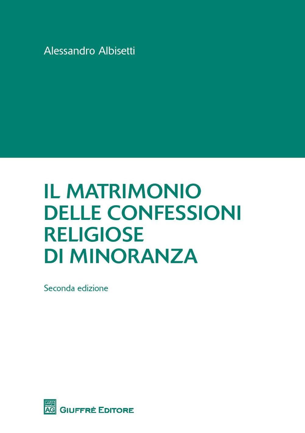 Il matrimonio delle confessioni religiose di minoranza