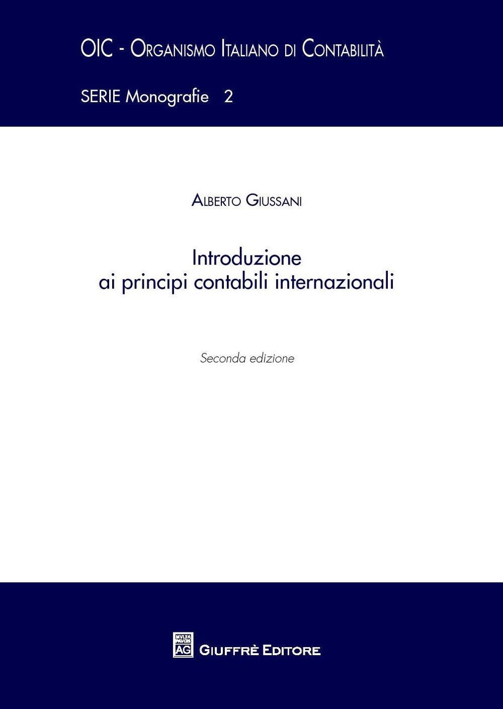 Introduzione ai principi contabili internazionali