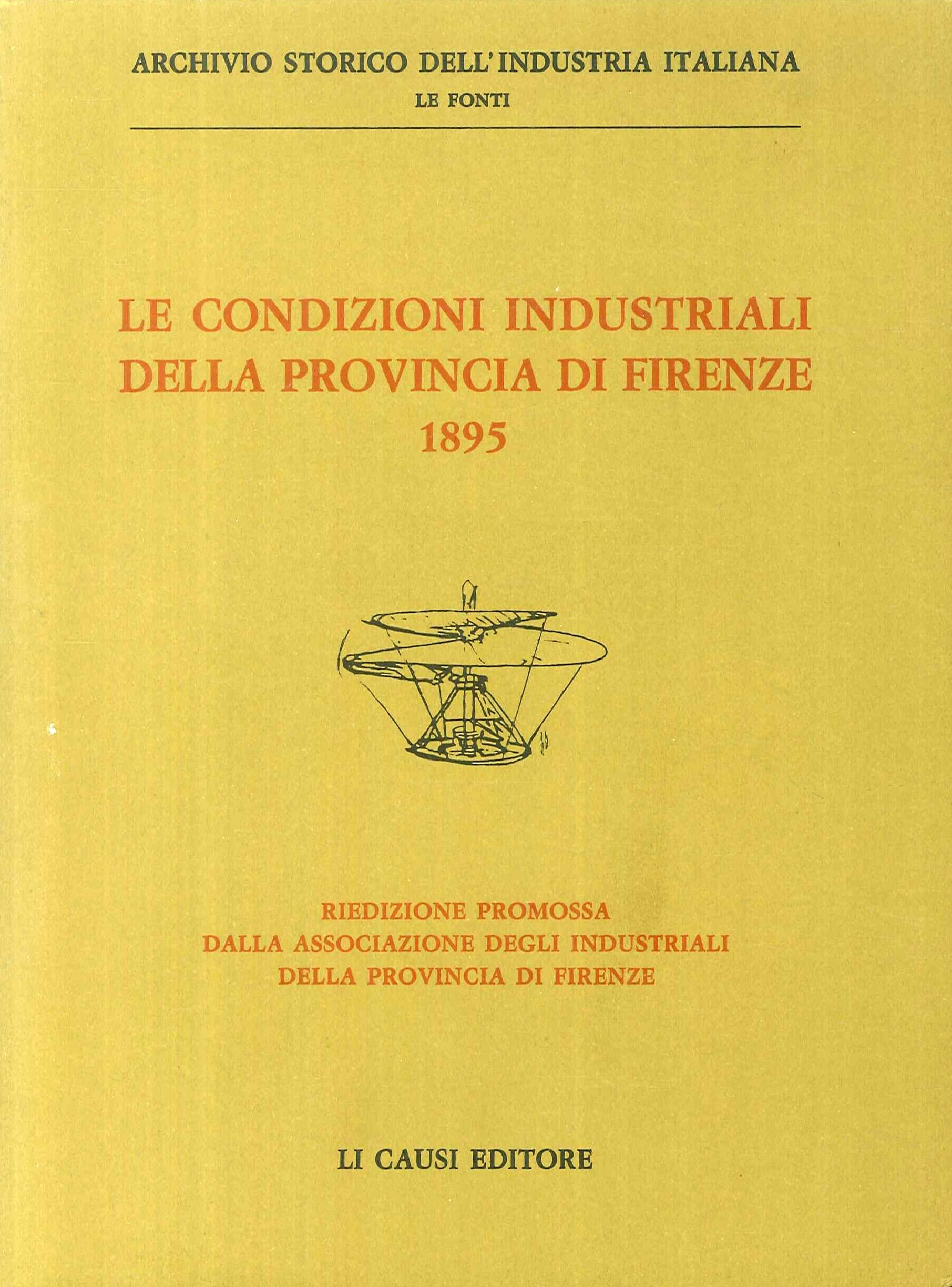 Le Condizioni Industriali della Provincia di Firenze 1895