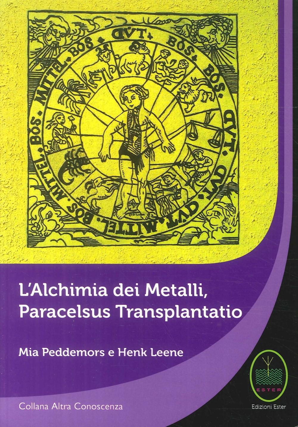 L'Alchimia dei Metalli, Paracelsus Transplantatio.
