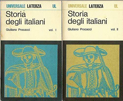 Storia degli Italiani. 2 Volumi