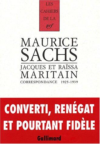 Correspondance 1925-1939