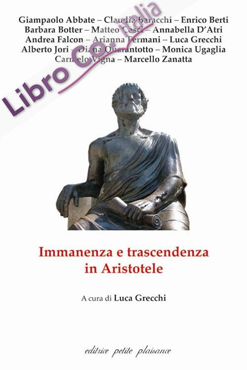Immanenza e trascendenza in Aristotele