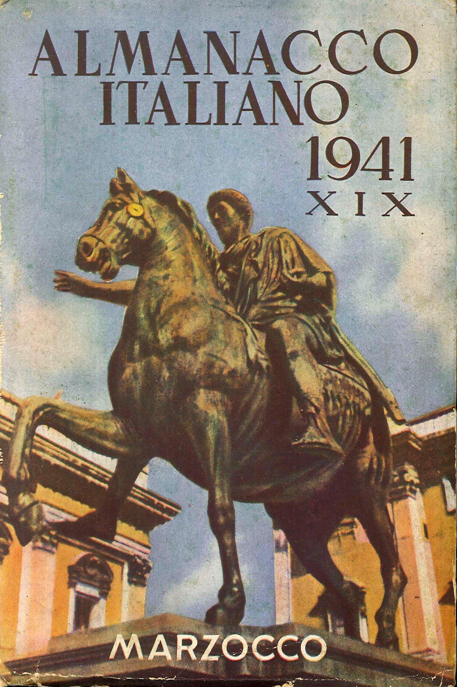 Almanacco Italiano 1941