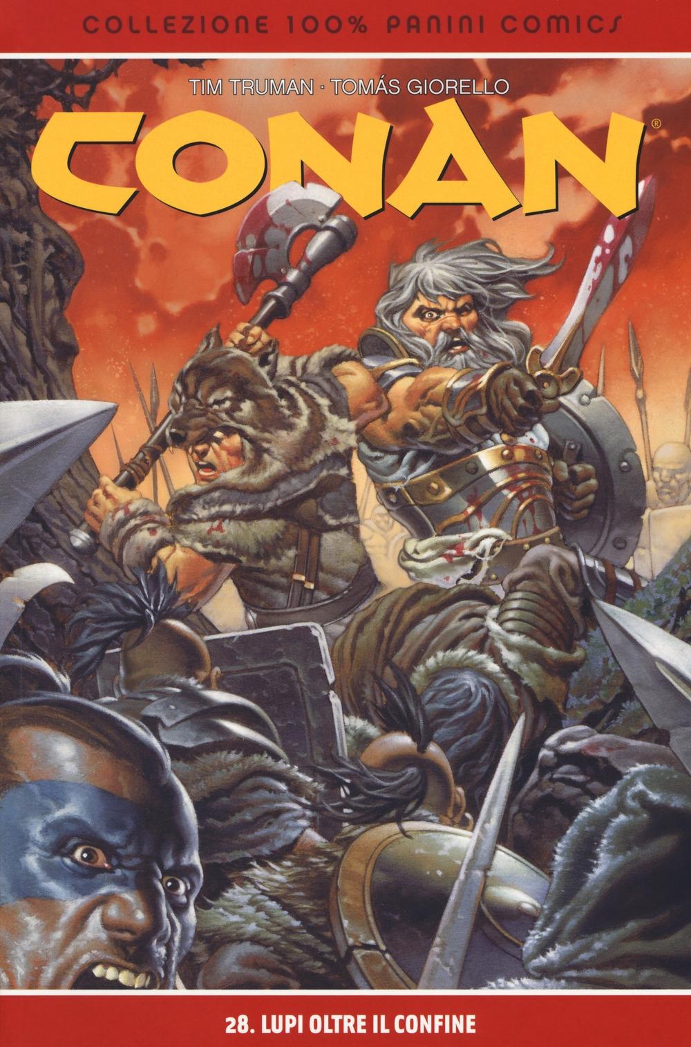 Lupi oltre il confine. Conan. Vol. 28