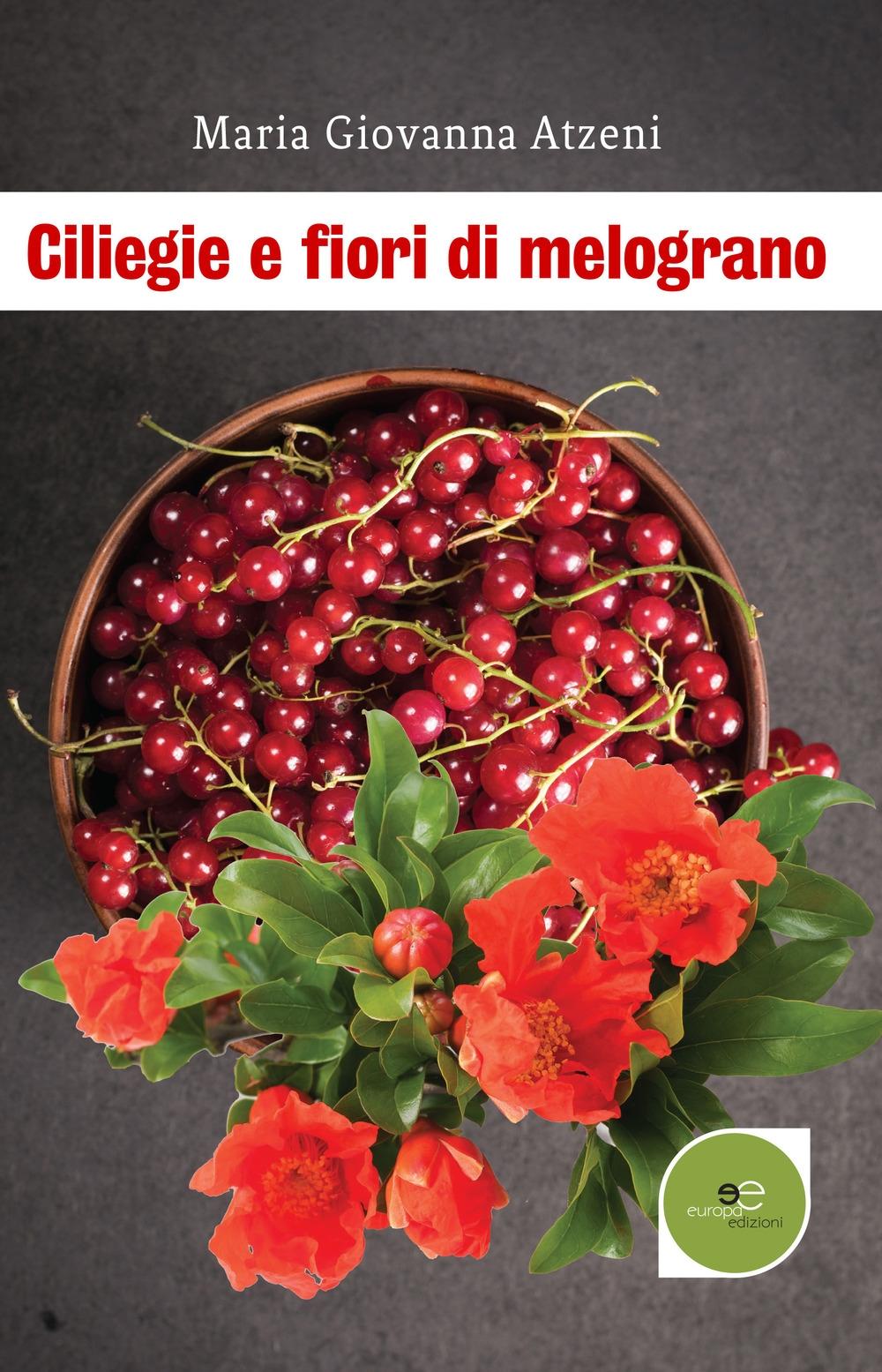 Ciliegie e fiori di melograno