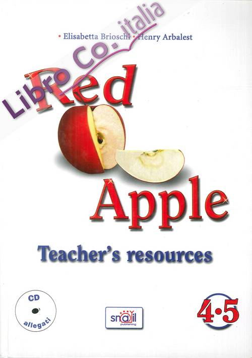 Schedario. Red Apple Teachers Resources. 4-5. Con CD