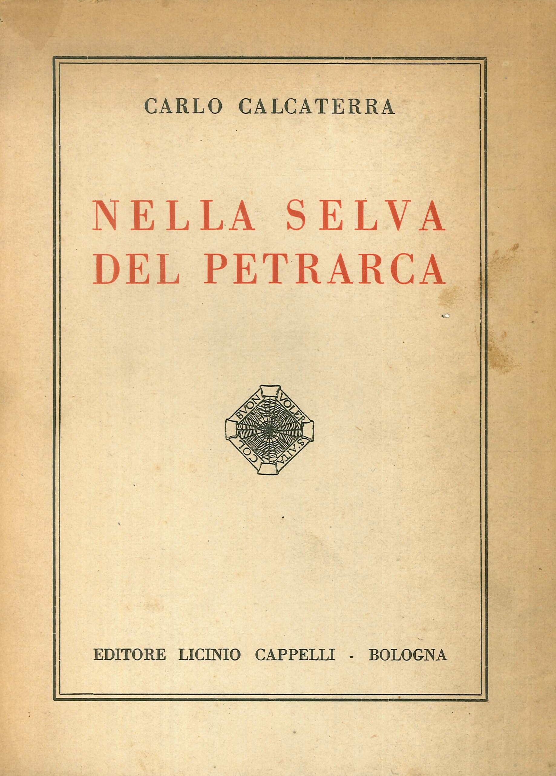 Nella Selva del Petrarca