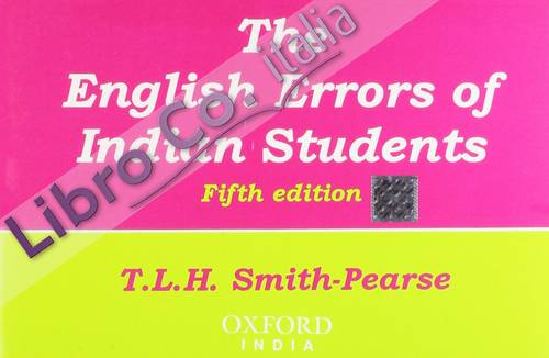 English Errors of Indian Students