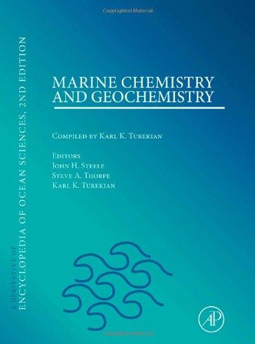 Marine Chemistry & Geochemistry