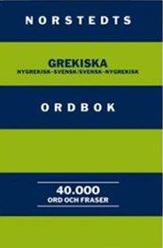 Norstedts Grekiska Ordbok. Nygrekisk-svensk/Svensk-nygrekisk