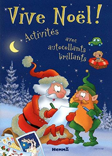 Vive Noel! Activités avec autocollants brillants