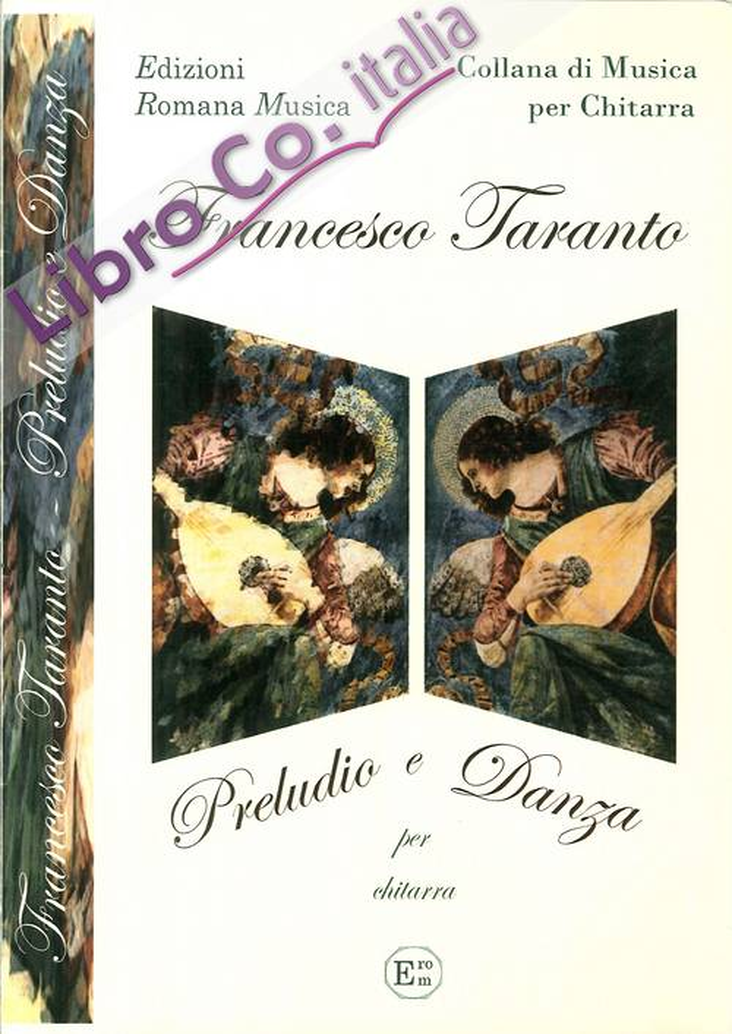Francesco Taranto. Preludio e Danza. Musica per Chitarra. Erom 0067.